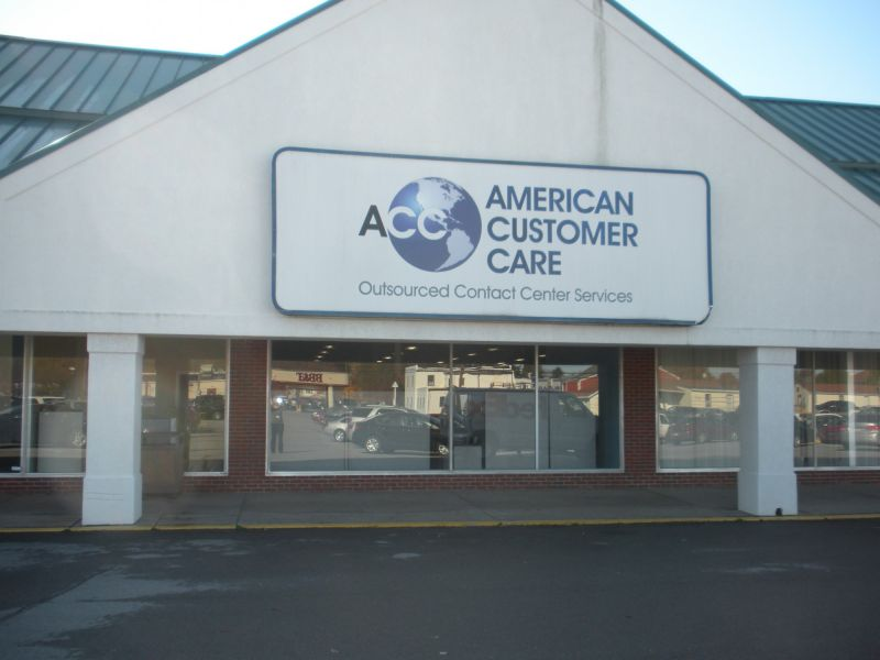 Outside front of the building at American Customer Care Montoursville